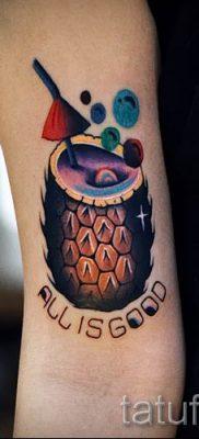 фото тату ананас для статьи про значение татуировки с ананасом – tatufoto.ru – 29