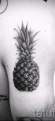 фото тату ананас для статьи про значение татуировки с ананасом – tatufoto.ru – 32