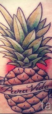 фото тату ананас для статьи про значение татуировки с ананасом – tatufoto.ru – 36