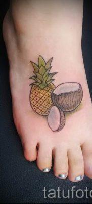 фото тату ананас для статьи про значение татуировки с ананасом – tatufoto.ru – 47
