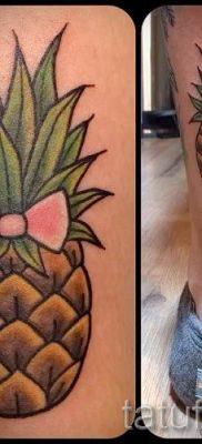 фото тату ананас для статьи про значение татуировки с ананасом – tatufoto.ru – 49