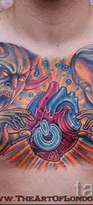 фото тату ангел и демон для статьи про значение рисунка татуировки – tatufoto.ru – 8