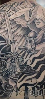 фото тату ангел и демон для статьи про значение рисунка татуировки – tatufoto.ru – 16