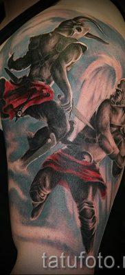 фото тату ангел и демон для статьи про значение рисунка татуировки – tatufoto.ru – 17