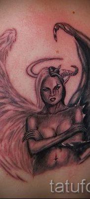 фото тату ангел и демон для статьи про значение рисунка татуировки – tatufoto.ru – 19
