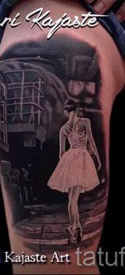 фото тату балерина для статьи про значение татуировки балерина – tatufoto.ru – 9