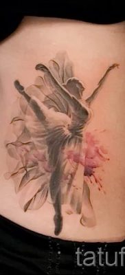 фото тату балерина для статьи про значение татуировки балерина – tatufoto.ru – 10