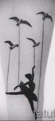 фото тату балерина для статьи про значение татуировки балерина – tatufoto.ru – 11