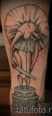 фото тату балерина для статьи про значение татуировки балерина – tatufoto.ru – 12