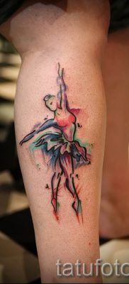 фото тату балерина для статьи про значение татуировки балерина – tatufoto.ru – 14