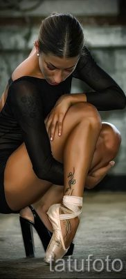 фото тату балерина для статьи про значение татуировки балерина – tatufoto.ru – 21