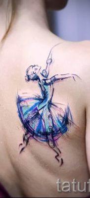фото тату балерина для статьи про значение татуировки балерина – tatufoto.ru – 25