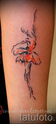 фото тату балерина для статьи про значение татуировки балерина – tatufoto.ru – 28