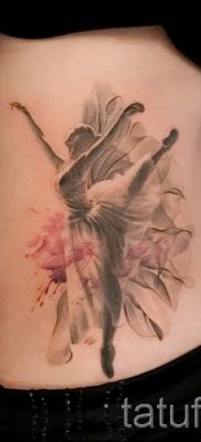 фото тату балерина для статьи про значение татуировки балерина – tatufoto.ru – 34