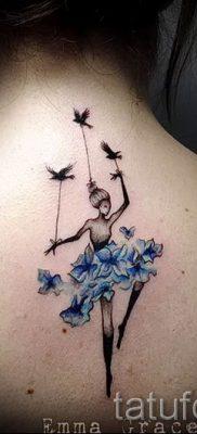 фото тату балерина для статьи про значение татуировки балерина – tatufoto.ru – 37