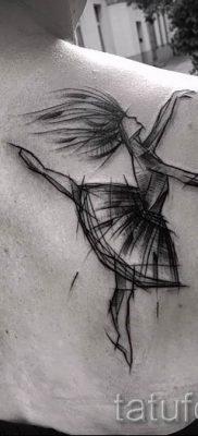 фото тату балерина для статьи про значение татуировки балерина – tatufoto.ru – 38