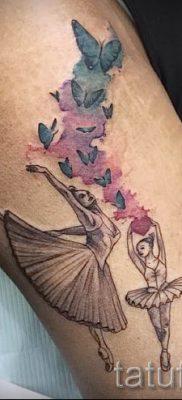 фото тату балерина для статьи про значение татуировки балерина – tatufoto.ru – 41