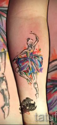 фото тату балерина для статьи про значение татуировки балерина – tatufoto.ru – 45
