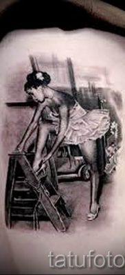 фото тату балерина для статьи про значение татуировки балерина – tatufoto.ru – 54
