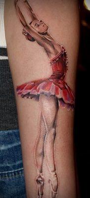 фото тату балерина для статьи про значение татуировки балерина – tatufoto.ru – 62