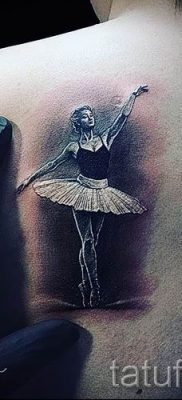 фото тату балерина для статьи про значение татуировки балерина – tatufoto.ru – 74