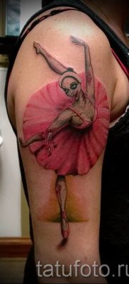 фото тату балерина для статьи про значение татуировки балерина – tatufoto.ru – 83