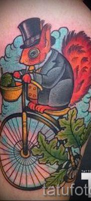 фото тату белка для статьи про значение татуировки с белкой – tatufoto.ru – 2