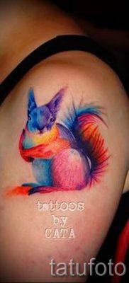 фото тату белка для статьи про значение татуировки с белкой – tatufoto.ru – 5
