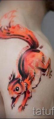 фото тату белка для статьи про значение татуировки с белкой – tatufoto.ru – 7