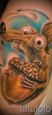фото тату белка для статьи про значение татуировки с белкой – tatufoto.ru – 19