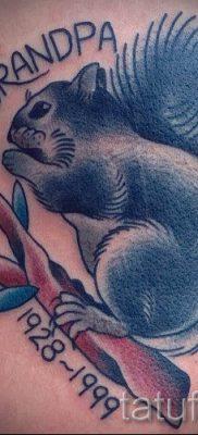 фото тату белка для статьи про значение татуировки с белкой – tatufoto.ru – 20