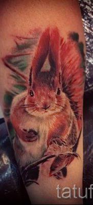 фото тату белка для статьи про значение татуировки с белкой – tatufoto.ru – 21
