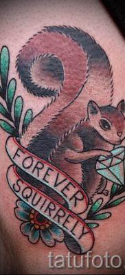 фото тату белка для статьи про значение татуировки с белкой – tatufoto.ru – 24
