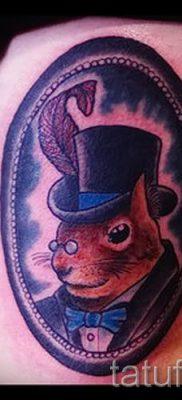 фото тату белка для статьи про значение татуировки с белкой – tatufoto.ru – 29