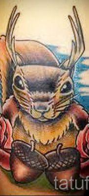 фото тату белка для статьи про значение татуировки с белкой – tatufoto.ru – 33