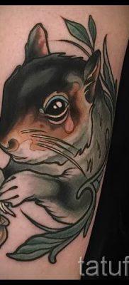 фото тату белка для статьи про значение татуировки с белкой – tatufoto.ru – 39