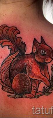 фото тату белка для статьи про значение татуировки с белкой – tatufoto.ru – 40