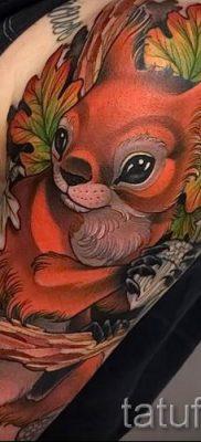 фото тату белка для статьи про значение татуировки с белкой – tatufoto.ru – 42