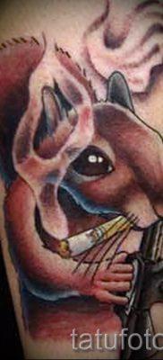 фото тату белка для статьи про значение татуировки с белкой – tatufoto.ru – 47