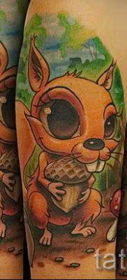 фото тату белка для статьи про значение татуировки с белкой – tatufoto.ru – 51