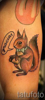 фото тату белка для статьи про значение татуировки с белкой – tatufoto.ru – 54