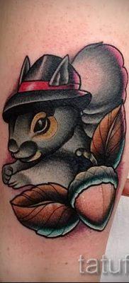фото тату белка для статьи про значение татуировки с белкой – tatufoto.ru – 62