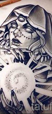 фото тату ведьма для статьи про значение татуировки ведьма – tatufoto.ru – 4