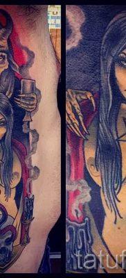 фото тату ведьма для статьи про значение татуировки ведьма – tatufoto.ru – 6