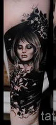 фото тату ведьма для статьи про значение татуировки ведьма – tatufoto.ru – 11