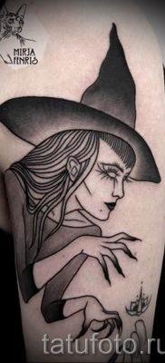 фото тату ведьма для статьи про значение татуировки ведьма – tatufoto.ru – 12