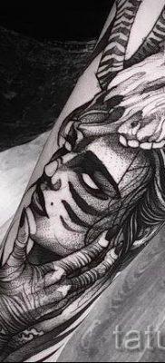 фото тату ведьма для статьи про значение татуировки ведьма – tatufoto.ru – 17