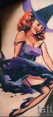 фото тату ведьма для статьи про значение татуировки ведьма – tatufoto.ru – 18