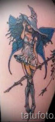 фото тату ведьма для статьи про значение татуировки ведьма – tatufoto.ru – 21
