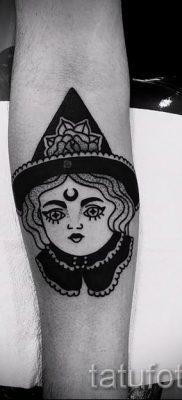 фото тату ведьма для статьи про значение татуировки ведьма – tatufoto.ru – 22